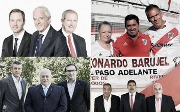 Elecciones en River: las listas competidoras