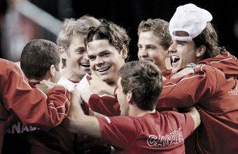 Coupe Davis : La Suisse tombe, le Canada passe difficilement