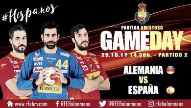 Resumen Alemania vs España en amistoso internacional (28-24)