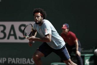 Tsonga, en modo Roland Garros