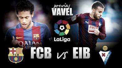 Previa Barcelona - Eibar: algo más que un trámite