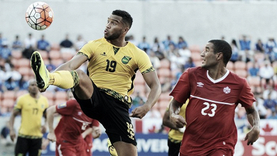 Jamaica holds off Canada in their 2-1 win in the Gold Cup quarterfinals