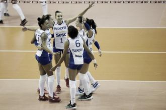 Resultado Hisamitsu Springs x Rio de Janeiro pelo Mundial de Clubes Feminino de Vôlei (1-3)