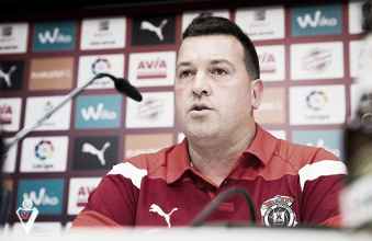 """Arkaitz Lakanbra: """"El resultado de la ida fue bueno, pero es peligroso"""""""