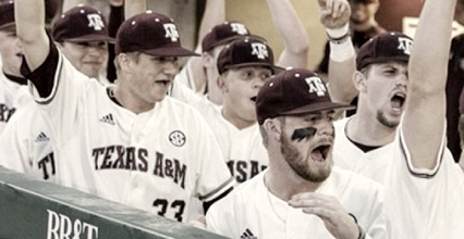 Davidson's big rally nullified by Texas A&M 15th inning walk-off, Aggies take Game 1, 7-6