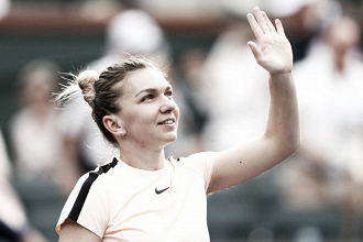WTA Indian Wells: Simona Halep outduels Qiang Wang for the straight sets victory