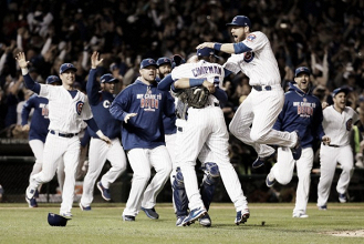 Chicago Cubs reach first World Series in 71 years with 5-0 win over Los Angeles Dodgers