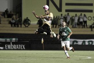 Criciúma e Chapecoense empatam sem gols em partida de poucas oportunidades