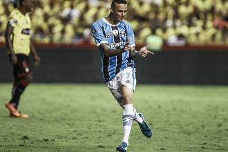 """Luan comenta sobre renovação e seu momento no Grêmio: """"O reconhecimento é importante"""""""