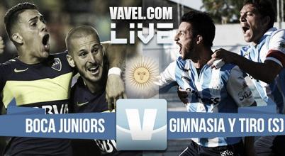 Resultado Boca Juniors vs Gimnasia y Tiro por Copa Argentina (5-0)