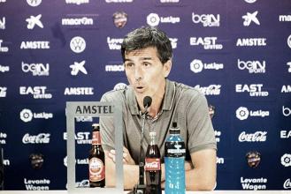"""Muñiz: """"Con el escudo del Levante hay que intentar ganar"""""""