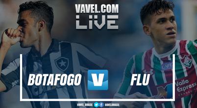 Resultado Botafogo x Fluminense no Campeonato Brasileiro (2-1)