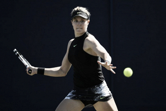Bouchard sigue atascada