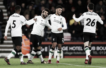 El Liverpool aplasta al Bournemouth