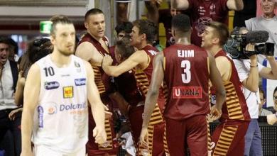 LegaBasket Serie A - Reyer Venezia ad un passo dallo Scudetto, Trento per allungare la serie a gara 7