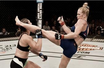 Holly Holm aplica nocaute e vence Bethe Correia no UFC Singapura