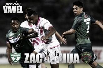 Zacatepec - Fc Juárez: Meterse dentro de los ocho mejores