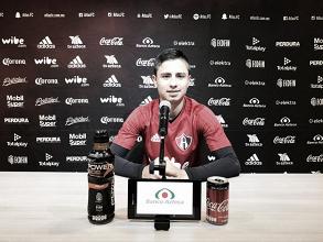 """Brayan Garnica: """"Vamos a arrancar muy bien este torneo"""""""