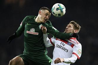 Werder Bremen vence Nordderby e deixa Hamburgo mais próximo da segunda divisão
