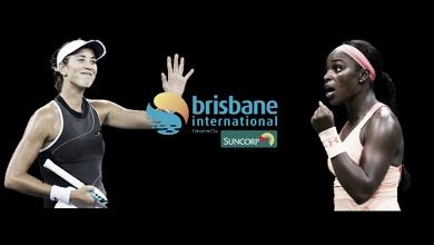 Garbiñe Muguruza and Sloane Stephens joins the field at the Brisbane International