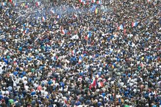 Récit : VAVEL était à l'écran géant de Paris