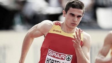Bruno Hortelano voló, y España voló con él