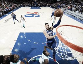 NBA, successi interni di Philadelphia e Indiana contro Hornets e Lakers