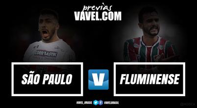 São Paulo recebe Fluminense em busca de reação no Brasileirão