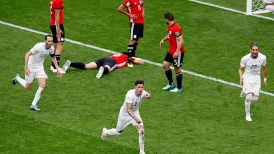 L'Uruguay vient à bout de l'Égypte