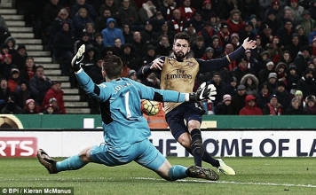 Analysis: Butland the hero as Stoke hold Arsenal to goalless draw