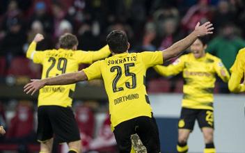 Bundesliga - Il Borussia scaccia la crisi con una vittoria per 2-0 sul Magonza