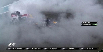 Vettel intouchable et taquin !