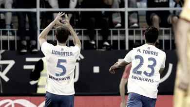 Diego Llorente, el defensa más goleador del Málaga
