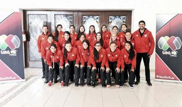 Necaxa, listo para la Copa de la Liga MX Femenil 2017