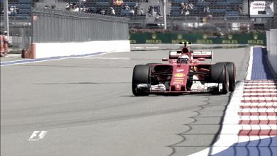 Ferrari domina los primeros entrenamientos libres del GP de Rusia
