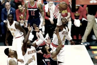 Hawks aproveitam mando de quadra, vencem Wizards e empatam série nos playoffs