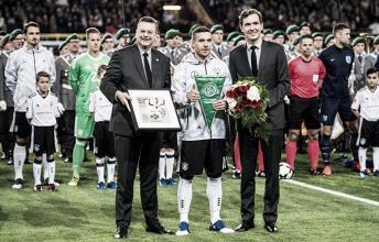 Lukas Podolski sella sudespedidade Die Mannschaft