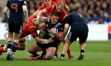 Sei Nazioni 2017: Francia batte Galles all'ultimo secondo 20-18