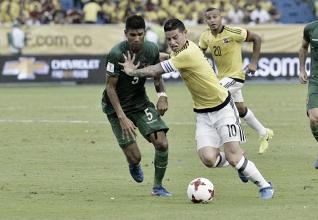 Qualificazioni Russia 2018: la Colombia passa di rigore, James batte Bolivia 1-0