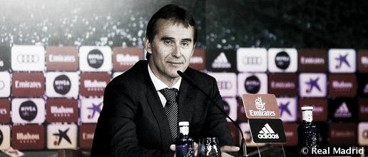 """Julen Lopetegui: """"Estamos satisfechos por ganar, pero aún tenemos un margen de mejora"""""""