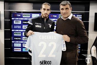 """Lazio, Caceres si presenta: """"Qui per aiutare la squadra"""""""