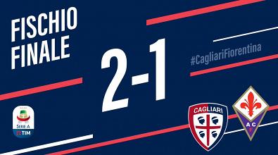 Serie A- Joao Pedro e Ceppitelli affondano la Fiorentina, il Cagliari vince meritatamente (2-1)