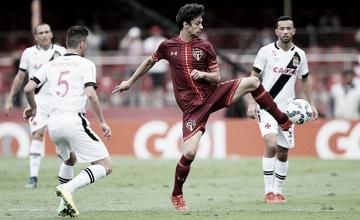 Diante do Vasco, São Paulo tenta primeira vitória sob comando de Dorival Júnior