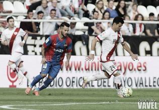 El Levante – Rayo Vallecano cerrará la jornada 16 de Segunda División