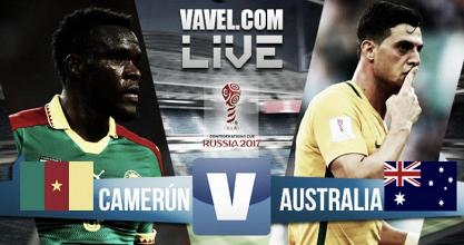 Resumen Camerún 1-1 Australia en Copa Confederaciones 2017