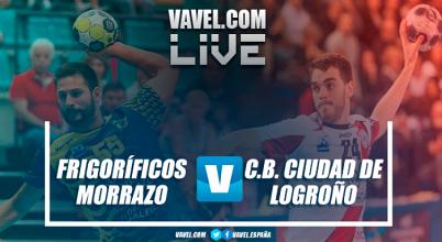 Frigoríficos Morrazo vs CB Ciudad de Logroño en vivo y en directo online en Liga Loterías ASOBAL