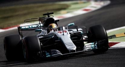 Mercedes durante los libres del GP de Italia 2017