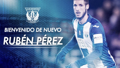 Rubén Pérez se queda en Leganés