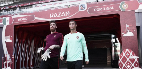 Cristiano Ronaldo y Pepe, convocados para el primer partido de la Copa Confederaciones
