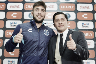 Cavallini fue presentado con Puebla